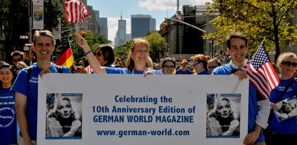German World Celebrated 10th Anniversary in New York