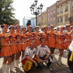 Soccer fever in Europe at the Euro2012 in Lwiw, Ukraine. Photo by Andreas Hennings