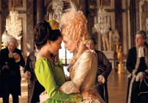 Diane Kruger (r.) and  Virginie Ledoyen as Gabrielle de Polignac