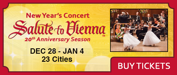 20th Anniversary Season for Salute to Vienna