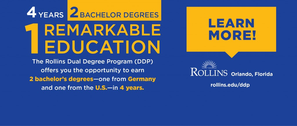 Rollins US-German Dual Degree Program